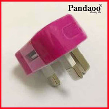 uk 3 pin plug 3pin plug for iphone /ipod