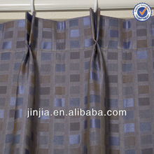 M3176 zhejiang yarn dyed stripe jacquard curtain fabric window sill cover wholesale curtain