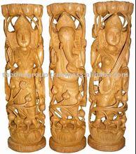 Escultura de madera de arte/personalizado talla de madera
