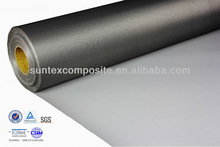 17oz ptfe coated fiberglass chemical resistant fire barrier fabric