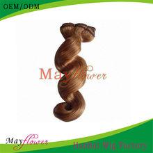 Loose wave Blonde human hair weave #27 #30 #33 virgin indian remy hair