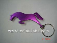 metal animal key ring bottle opener