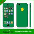Per iphone5 vinile adesivo 3m( verde al limone)