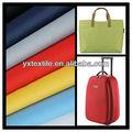 Prezzo di fabbrica cina 100% 420d oxford poli sacchetto tessuto materiale/tessuto valigia