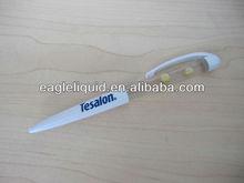 plastic customized promotion gift slider banner inside sliding pen