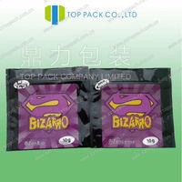 HOT SALE sticker for incense spice 10g/Bizarro herbal incense paper sticker/zencense