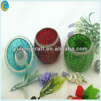 christmas pottery candle decoration