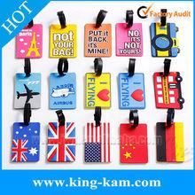 FDA standard silicone luggage labels printable