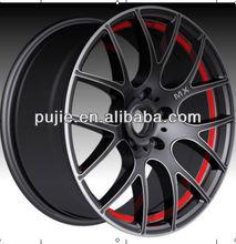 Black 17 inch Aluminum alloy wheels for cars