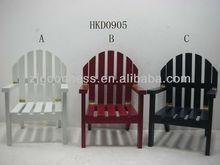 Best Sale 13'' Wooden Chair Ornament Chair Craft