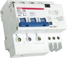 residual current breaker with overload protection RCBO DZ47LE