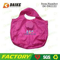Nylon High Quality Reusable purple eco friendly bag reusable shopping bags DK-DN1122
