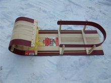 Wood Baby Sled / Toboggan