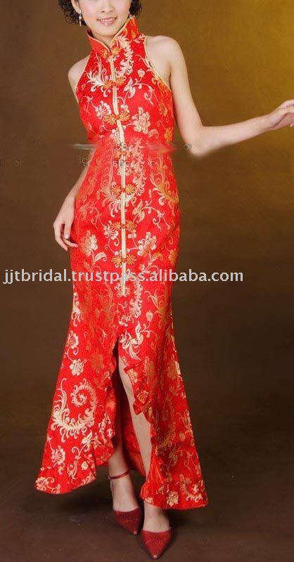 JHL175 Cheongsam Chinese Style Dress Qipao