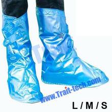 Adjustable PVC Waterproof Shoe Rain Covers/Rainproof Shoe Cover