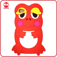 Wholesale Fancy 3D Animal Rubber Gel Frog Phone Case for Samsung S2 I9100