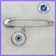 Mexico Enamel Evil Eye Brooch Pin #5908