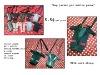 Thai Fabric EMBROIDER MOBILE PHONE BAG