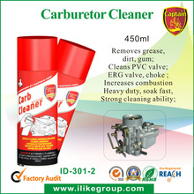 Car Care products carburetor cleaner (SGS,REACH,TUV ISO9001)
