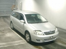 2003 Toyota used Corolla Fielder 1500cc 203,000km -NZE121G Silver(No.1009135)
