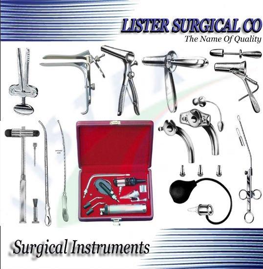 Todo tipo de instrumentos quirúrgicos