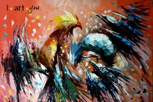 Roosters 18X24 inches
