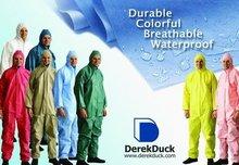 Anti ropa de protección química