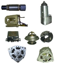 Starters, Alternators, Armature, Field Coil, Rectifier