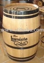 promotional high wooden barrel