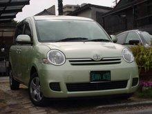 2007 Toyota used SIENTA 1500cc 18,000km DBA-NCP81G Green(No.10091604)
