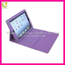 External silicone Keyboard for Tablet Wireless Bluetooth for iPad Keyboard Case Leather Wholesale Good Price