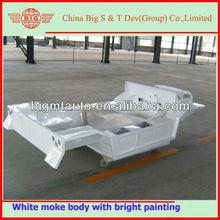 original white painted mini moke car body for sale