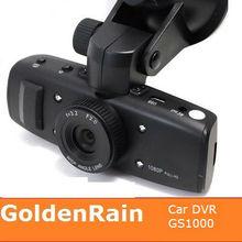 GS1000 Ambarella program 1.5 inch screen car camera recorder with GPS logger G-sensor