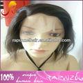 indian reta curta peruca dianteira do laço