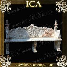 ICA,Decorative outdoor stone bench,garden bench 3,natural outdoor bench