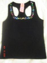 Black Racerback Shirt
