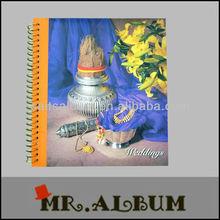 screw post bound book with PP photo album