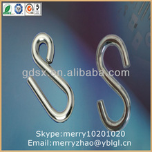 small iron s hook in china factory