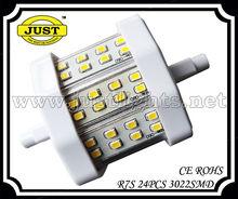 85V-265V AC R7S LED Light 24pcs 3022smd highlight