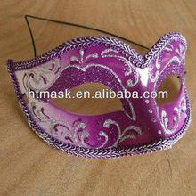 Purple Masks Decorations Feamle Masks