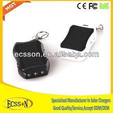 1200mAh mini solar charger mobilephone, mini keychain solar charger