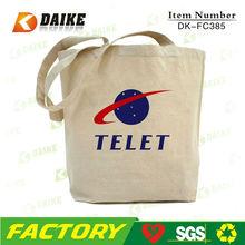 Eco Cheap Plain White Canvas Bags DK-FC385