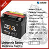 Maintenance Free Motorcycle battery/ street bike battery 12V 4AH YTX5L-BS