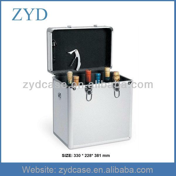 6 bottle wine case, 6 bottle wine carrier ZYD-JX18