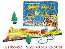 Children Funny Cartoon Electric Train Model Train Toy Plastic Train