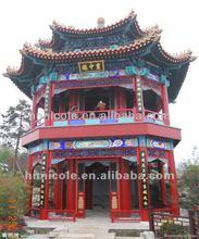 No peeling china glaze roof for pavilion