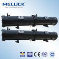 refrigerado por agua intercambiador de calor y condensadores de refrigeración para las unidades de condensación
