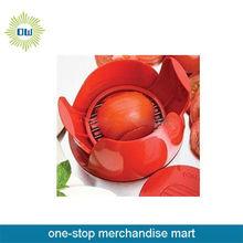 high quality plastic onion tomato cutter