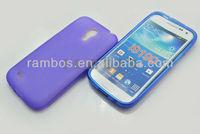 Soft Rubber TPU Gel Case Phone Cover Skin for Samsung Galaxy S4 mini i9190