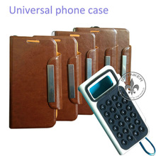 Standing Case PU Leather Covering For Iphone 5 Universal Smartphone U2604-101